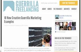 How An Offline Service Provider Can Use Proven Guerilla Marketing Examples To Explode Their Profits Now!